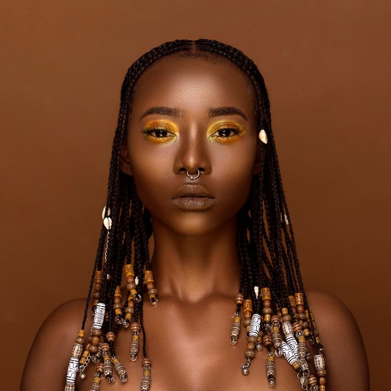 Editorial Quot Beads And Braids Quot Inspired By Ghanaian Women