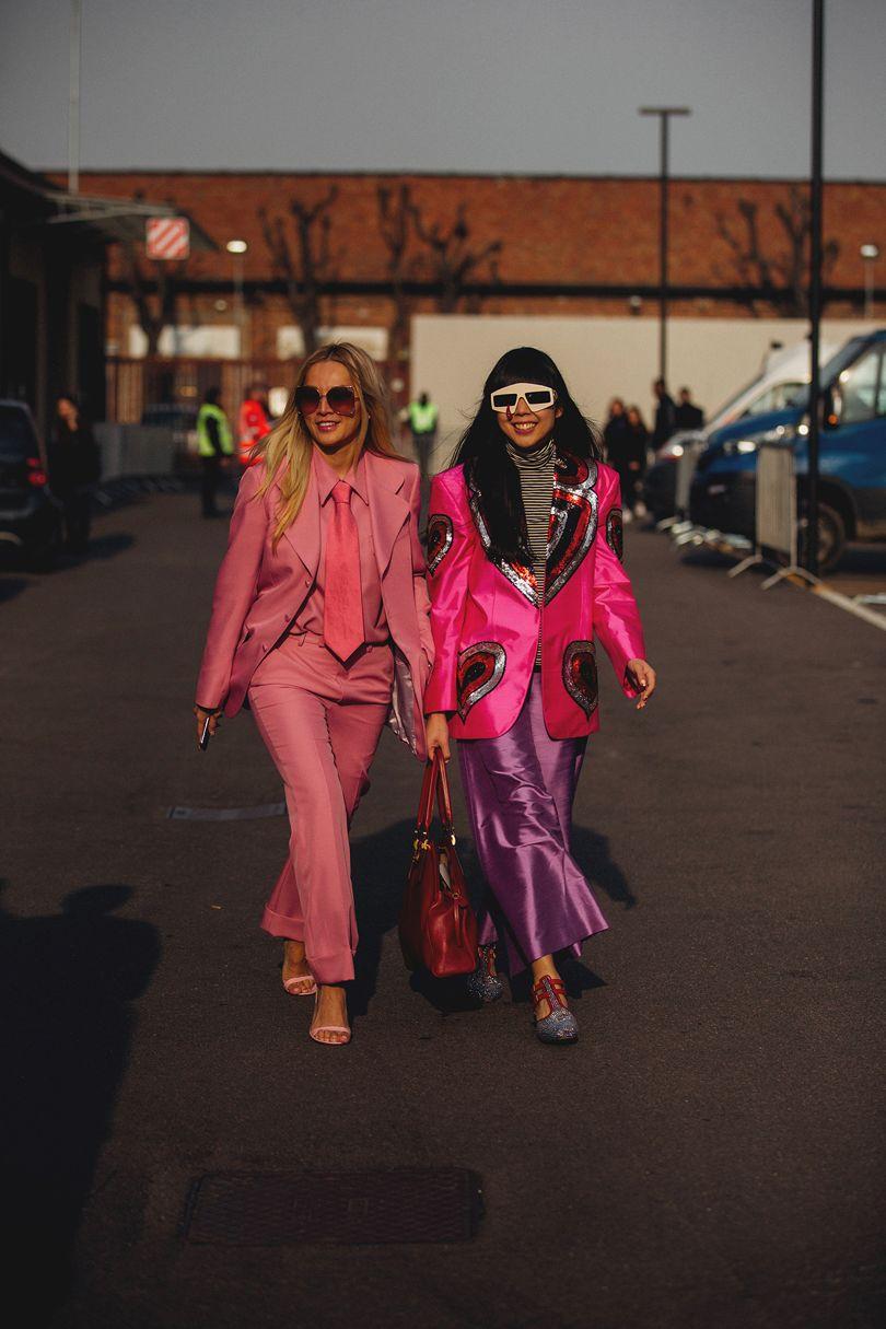 Milan Fashion Week Street Style Aw18 06