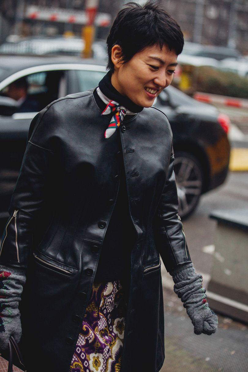 Milan Fashion Week Street Style Aw18 14